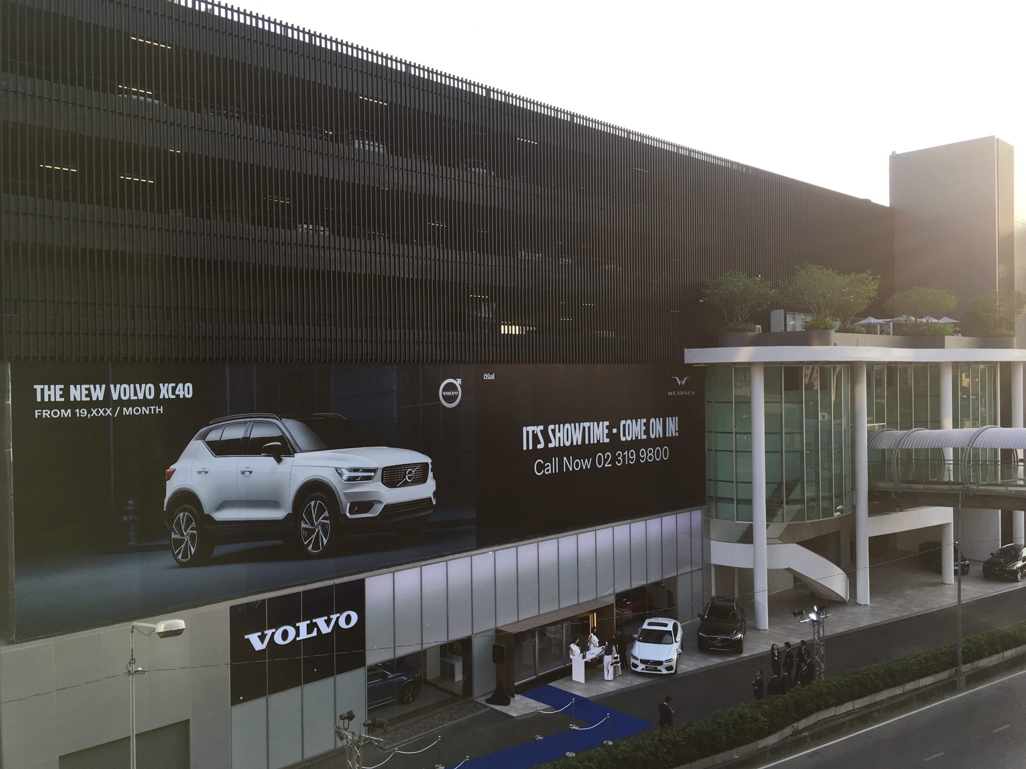 The new Wearnes Volvo Huamark Showroom is now open! – Thai