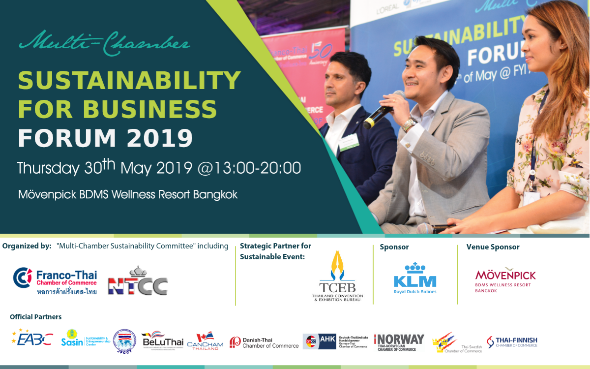 Multi-Chamber Sustainability for Business Forum 2019 – Thai
